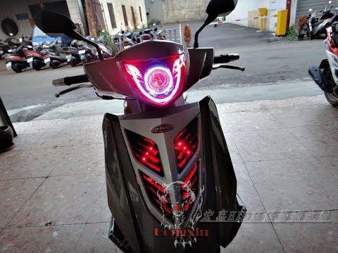 【炬霸科技】PGO TIGRA 彪虎 地瓜 125 150 ABS 特仕版 LED 水晶 導光 尾燈 條 光柱... | Doovi