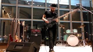Bass Guitar Workshop by Miki Santamaria with Michael Pignéguy  at YAMAHA - Lagoona Mall Qatar