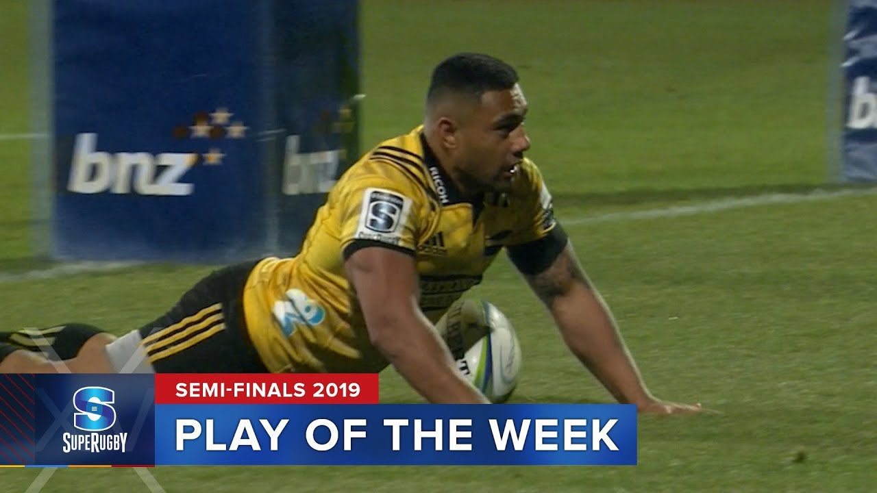 PLAY OF THE WEEK | Super Rugby 2019 Semi Finals