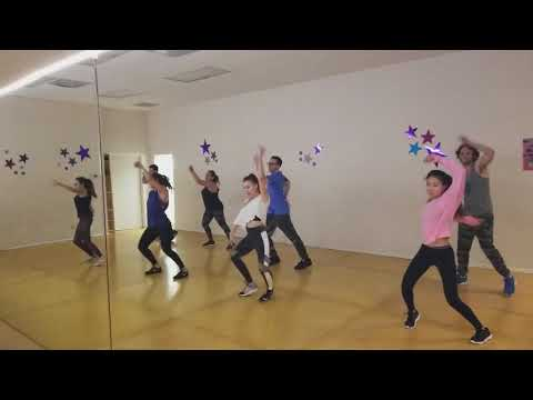 How to learn Hip-Hop class fun and easy dance fitness style from Beginner to Intermediate