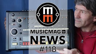 MUSICMAG TV NEWS #118: Soma Ether, Behringer против Roland, Ableton 10.1 и др.