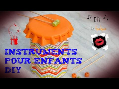 Idées d'instruments de musique à faire avec les enfants