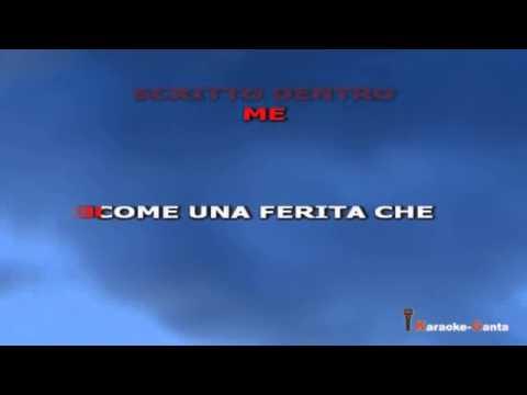 Francesco Renga - Come Te (video Karaoke)