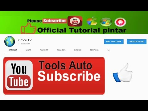 Youtube Auto Subscribe Get 15-20 Subscriber Daily 100% Work 2017