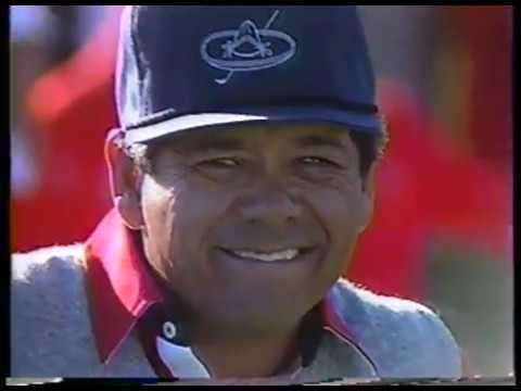 Golf - PGA - 1986 Skins - Front 9 - Jack Nichlaus & Fuzzy Zoeller & Lee Trevino & Arnold Palmer