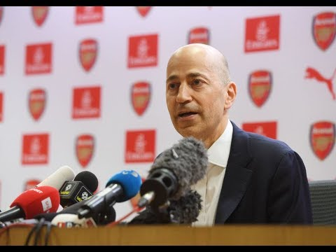 GAZIDIS OUT!!!   Arsenal's CEO Leaves For AC Milan
