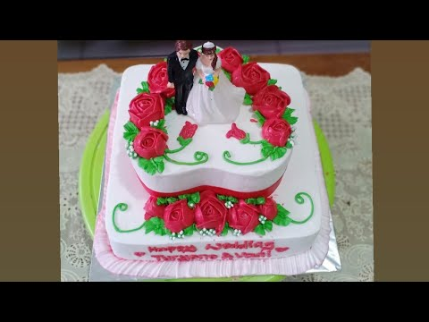 Wedding Cake Simple Tanpa Ribet Wedding Cake Simple By