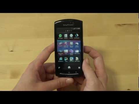 Sony-Ericsson Xperia neo Test Internet