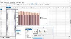 Tietotekniikka: Viivadiagrammin tekeminen LibreOffice Calc -ohjelmalla (lukio)