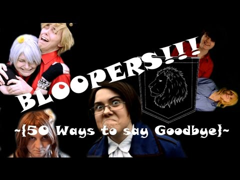 50 Ways To Say BLOOPERS!!!