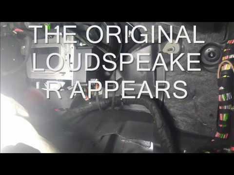 UPGRADING SOUND W205 ACTIVE SUBWOOFER INSTALLATION