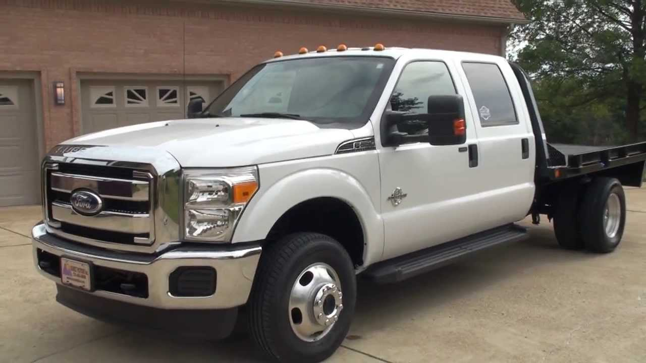 HD VIDEO 2011 FORD F350 XLT CREW CAB 4X4 6 7L DIESEL CM ...