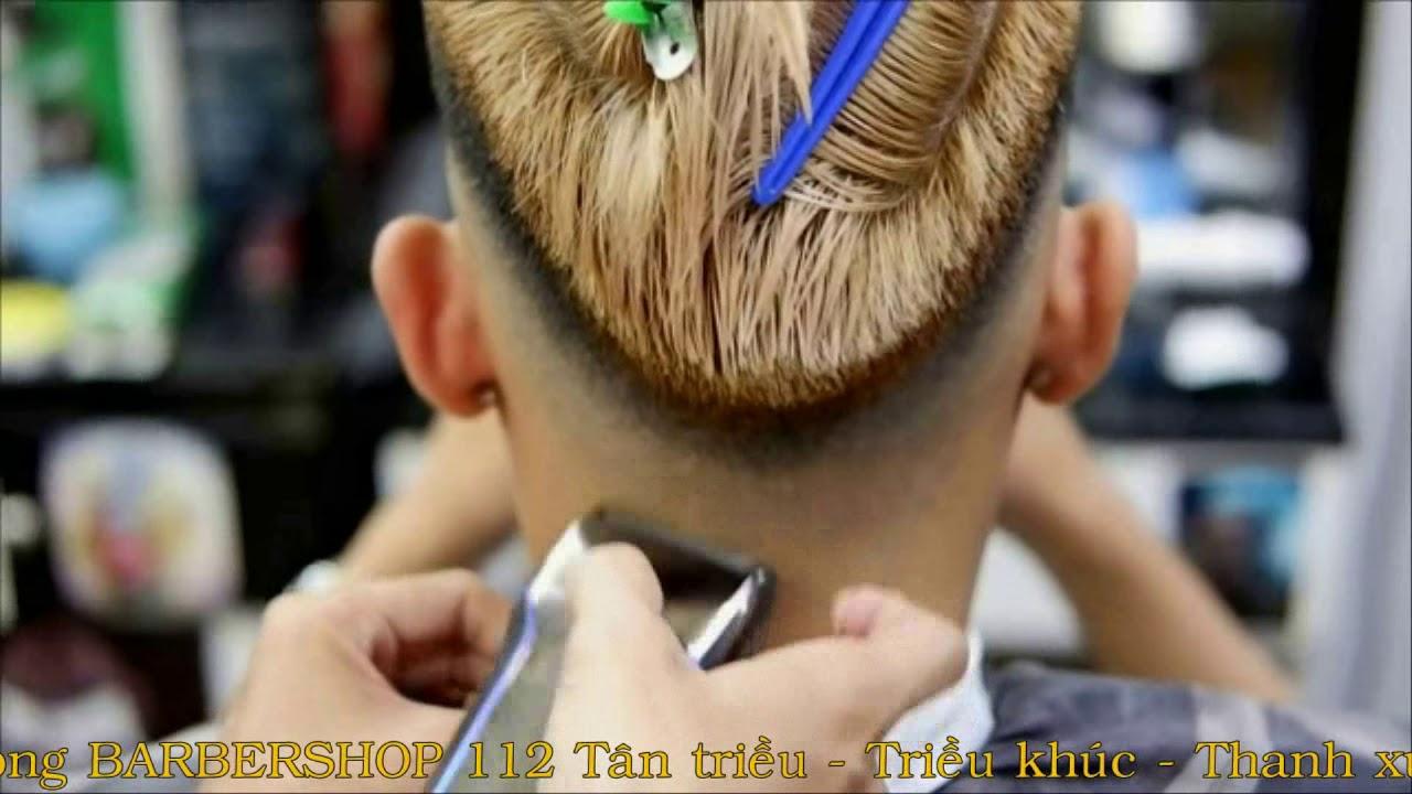 Tạo Mẫu Tóc Nam Đẹp 2017-2018  Kiểu Tóc Layer cut  Part 1