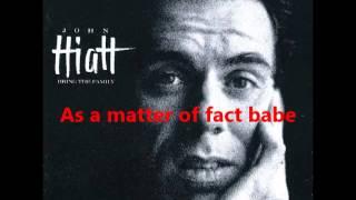 John Hiatt - Thank You Girl (Lyrics)