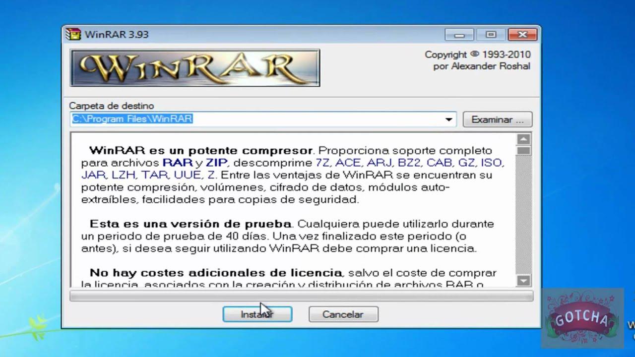 winrar 3.93 version 32 bit et 64 bit