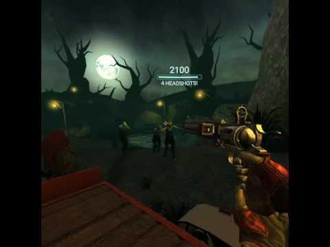 Playing Drop Dead on Gear VR