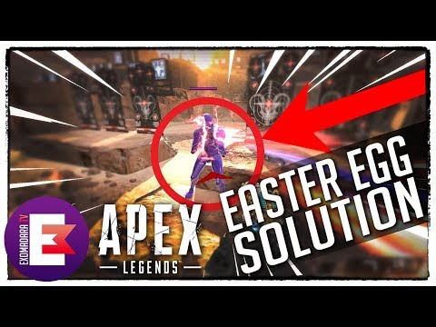 ⚠️ APEX LEGENDS EASTER EGG FIRING RANGE SOLUTION