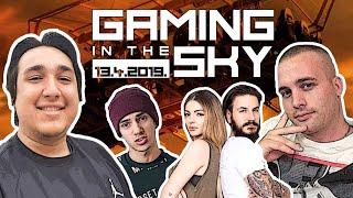 UKLJUČI SE U NAJLUĐE GAMING NATJECANJE : Mudja i gameri na 40m visine!   Gaming in the sky