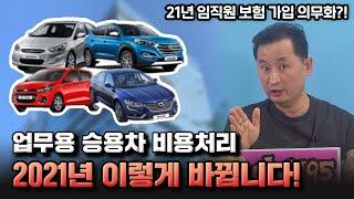 3부) 자동차리스, 렌트, 할부 업무용 자동차 비용처리…