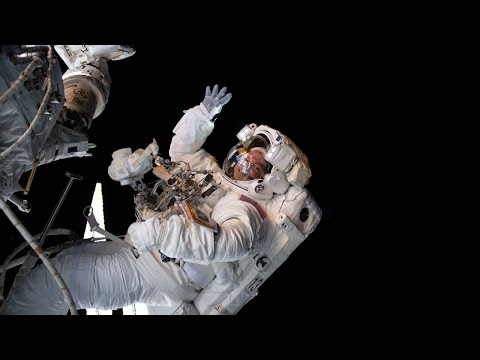 NASA Astronauts Spacewalk Outside the International Space Station on Oct. 6, 2019
