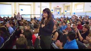 Kendra Borden Wins Rhode Island 2015-16 Milken Educator Award [Extended Version]