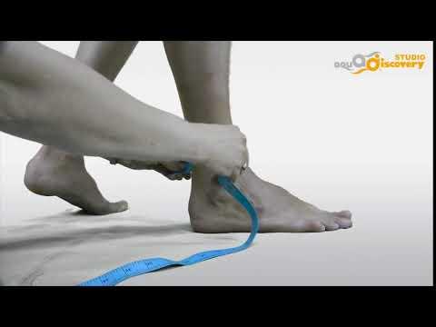 Как измерить окружность голеностопного сустава