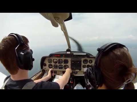 GoPro Flying HD - A flight to Sandown (Isle of Wight)