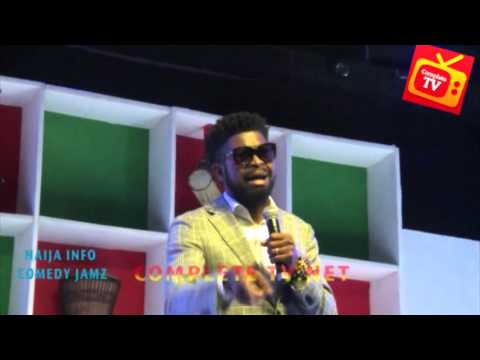 Video (stand-up): Basketmouth Makes Fun of Kiss Daniel and Other Singers