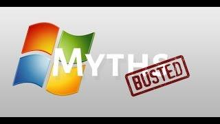5 Windows Myths Debunked!!!!