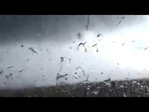 Padre e hijo escaparon por milagro de un tornado en tandil