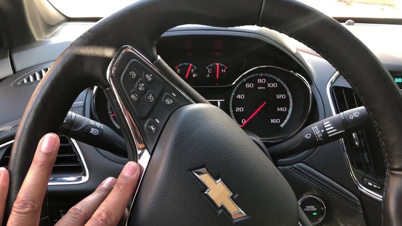 Chevy Cruze Adjusting Steering Wheel Height