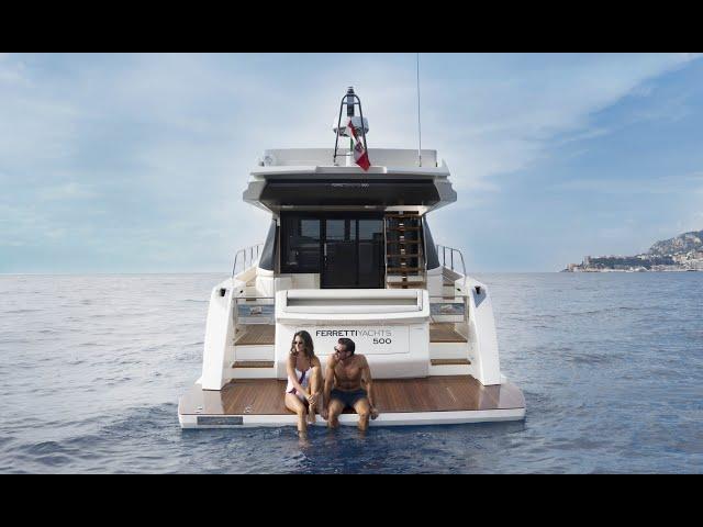 Ferretti Yachts 500: Entry-Level Supreme