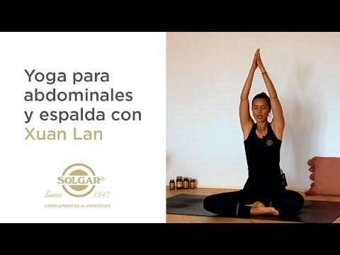 XUAN LAN   Yoga En Casa Para Abdominales Y Espalda