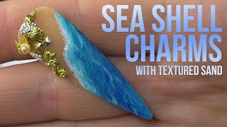 SHE SELLS SEA SHELLS BY THE SEA SHORE - NAIL ART TUTORIAL