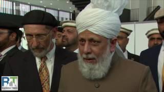 SWR Deutsch: Ahmadiyya Muslims organize Germany's largest Islamic Convention