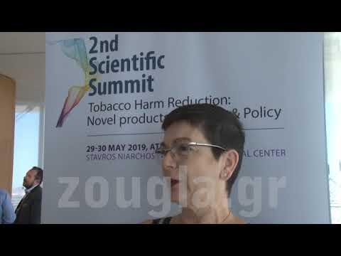 Λίνα Νικολοπούλου, διοργανώτρια του 2nd Scientific Summit