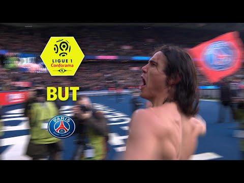 But Edinson CAVANI (11') / Paris Saint-Germain - Montpellier Hérault SC (4-0)  / 2017-18