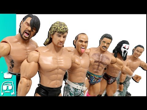 Worst Toy Fails: BULLET CLUB TOYS AJ Styles, Kenny Omega, Young Bucks & more from Being The Elite!!