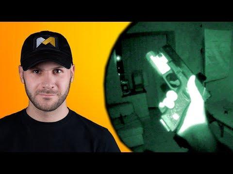 СТРАЙКБОЛЬНАЯ АКАДЕМИЯ. Как сделать ночную камеру и снимать видео ночью // How to make a night video