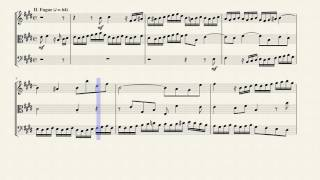 Play Prelude and Fugue, for Keyboard No. 9 in E Major (Wtc I/9), Bwv 854 (Bc L88)