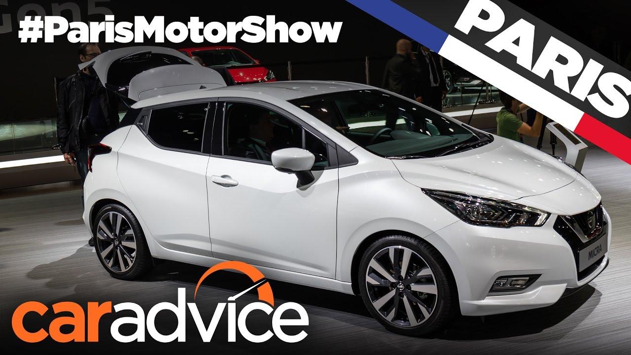 2017 Nissan Micra | 2016 Paris Motor Show - YouTube
