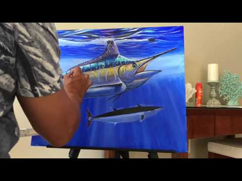 Painting With Carey Chen In Turks And Caicos
