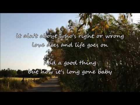 Alan Jackson - You Go Your Way (with lyrics)