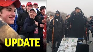 UPDATE on Maga Teens and Native Elder DC Fallout: Leave Them Kids Alone!