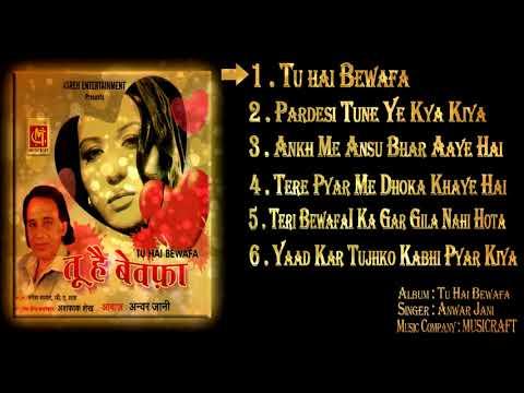 ( Full Album JukeBox ) Tu Hai Bewafa  || Anwar Jani || Zakhmi Dil || Musicraft India