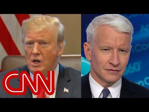 Anderson Cooper exposes Trump's false claims in cabinet meeting