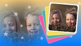 «Краски детства» - шаблоны слайд-шоу