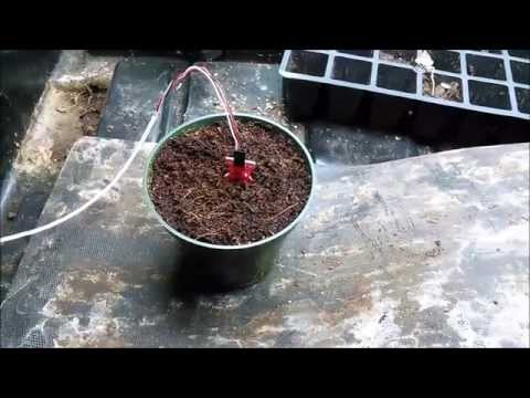 Arduino based plant watering system using Soil Moisture Sensors