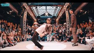 ¼ Final Pop BATTLE GROOVE'N'MOVE 2018 | Popping Cruzito Vs RedPop