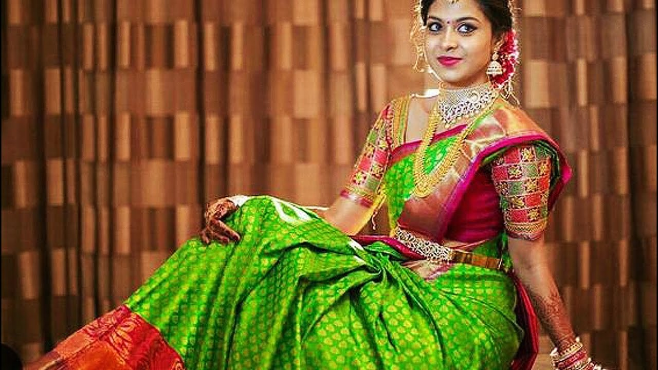 120 Gorgeous South Indian Bridal Saree Designs Youtube